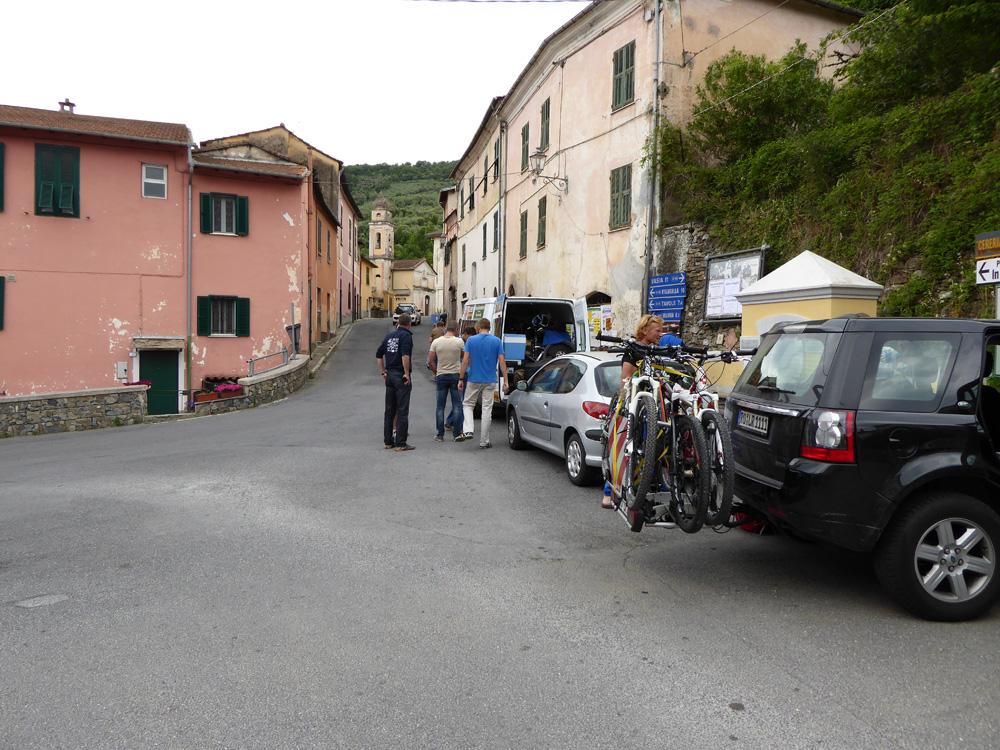 Ankunft in Molini di Prela
